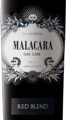 Argentina – MALACARA OAK CASK RED BLEND