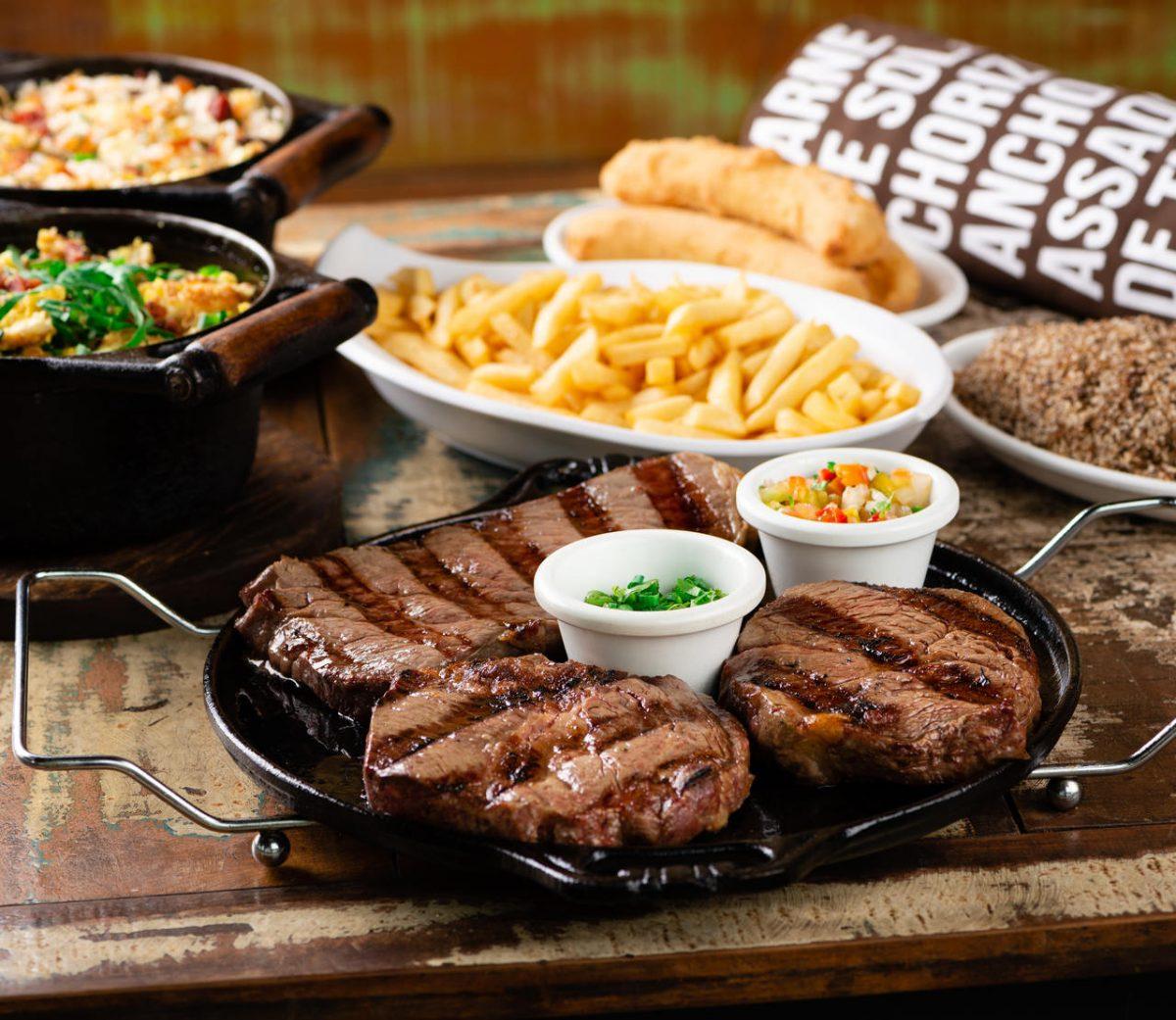 Parrilla Família Steak do Cowboy
